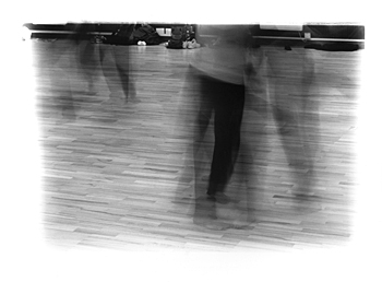 Dance Workshop 6 (2000), b/w photograph