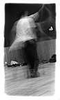 Dance Workshop 3 (2000), b/w photograph